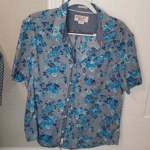 Mens penguin button down shirt XXL slim